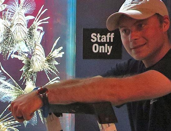 Aquarium Staff Member