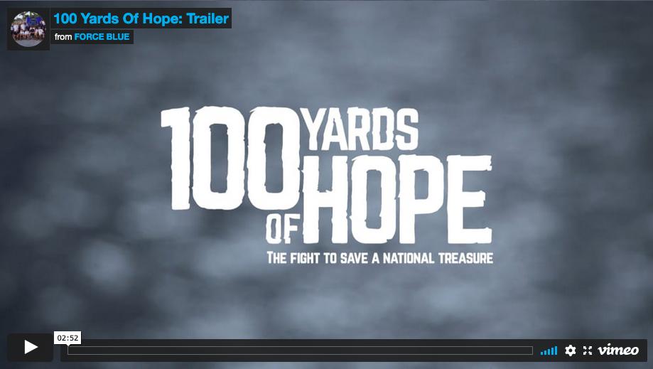 100 Yards of Hope