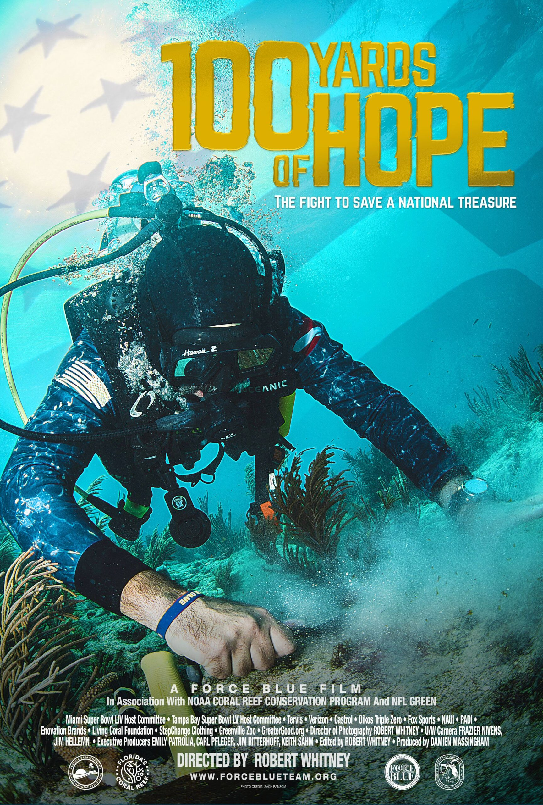 100 Yards of Hope Movie Poster